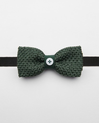 Bow Tie Hemp Green