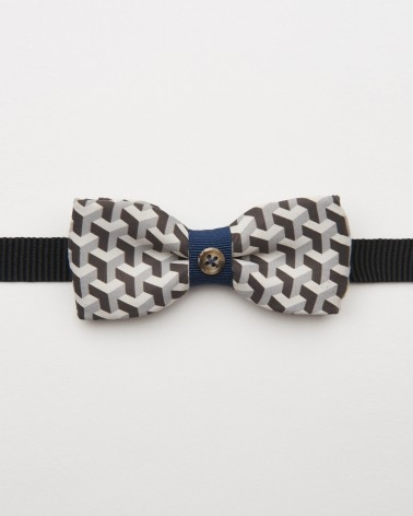 Bow Tie Labyrinth Blue