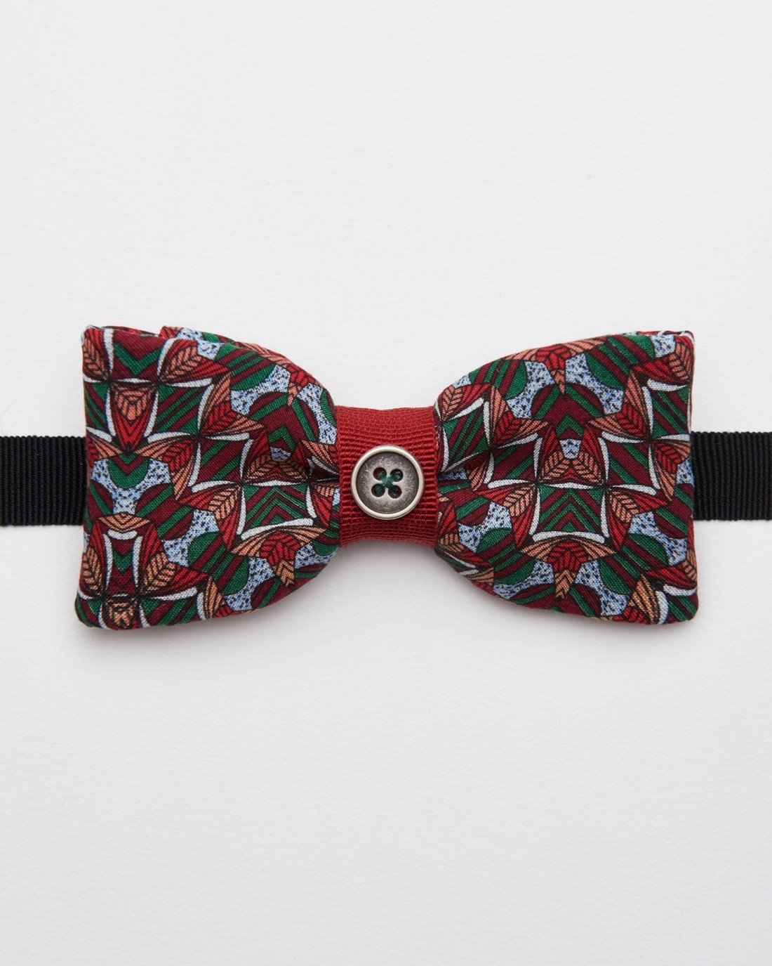 Bow Tie Marmore Red