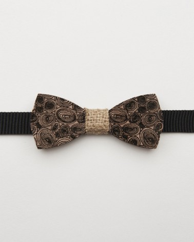 Bow Tie Into The Wood