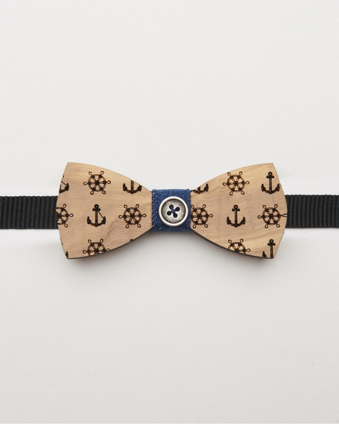 Bow Tie Sailor Wood