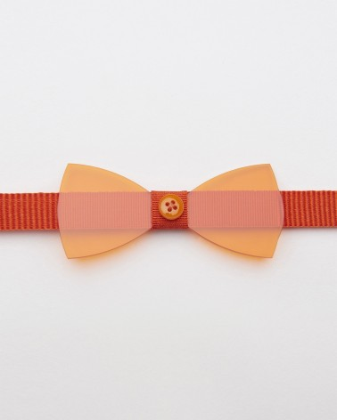 Bow Tie Plexiglass Plexi Orange