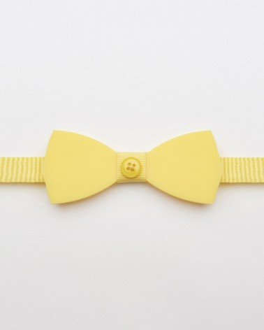 Bow Tie Plexi Yellow